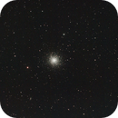 29 180 secs unguided exposures on m13 on the 21.04.11 with a modded 450d and a Vixen ED114,                                Stefano Ciapetti