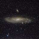 Andromeda Galaxy 300mm,                                Cyril NOGER
