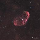 The Crescent Nebula - HaRGB,                                Damien Cannane