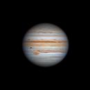 Jupiter & Ganymede 2021-09-27 11:55UT,                                David Cheng