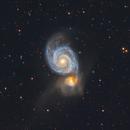 Whirlpool Galaxy,                                Wei Li