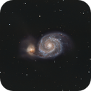 Messier 51,                                Loran Hughes