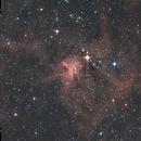 IC417-Nébuleuse de l'araignée-HaRVB-DSL,                                Francis Couderc