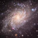 Galaxia del Triángulo M33,                                Enrique Arce