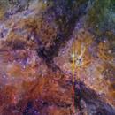 NGC 3372 _Ha_NII_SII,                                Cosmick