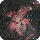 NGC 3372 Carina   neighborhood  NGC 3324 Gem cluster NGC3293 Liberty Statue NGC 3576  NGC3603 Collinder 240 Feibelman 1 NGC 3532,                                Michel Lakos M.