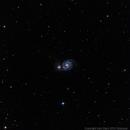 M51 - Whirpool Galaxy,                                Dario Iraci