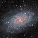 M33 - LHaRGB,                                Rodolphe Goldsztejn
