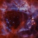 NGC 2244 - bicolor,                                Lars Stephan