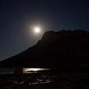Last Full Moon of 2020 and Orion Rising,                                Die Launische Diva