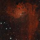 IC 405 - Flaming Star Nebula,                                AstroDinsk