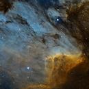 IC5070 - Pelican Nebula in SHO,                                Alex S.