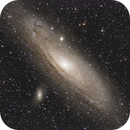 M31 The Andromeda Galaxy ASI 071 PRO - SW 72ED,                                Vincent F