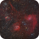 Auriga clusters and emission nebulae,                                Jenafan