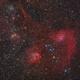 Auriga clusters and emission nebulae,                                Jenafan