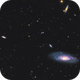 triangle from M106, NGC4217 and NGC4220,                                Wei Li