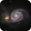 M51 - The Whirlpool Galaxy,                                Wissam Ayoub