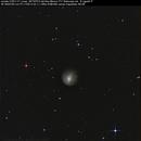 cometa C/2012 X1 LInear,                                Rolando Ligustri