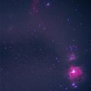 Widefield Orion through vintage tele,                                otoskope