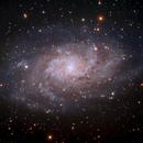 Triangulum Galaxy M33,                                photoman888