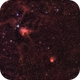 Spider and Fly Nebulae - HSO image,                                Pam Whitfield