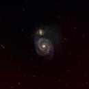 M51 - Whirlpool Galaxy,                                pkdhar