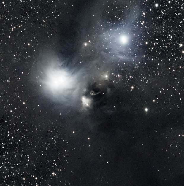 NGC 6729 in Corona Australis Unguided,                                Ian Parr