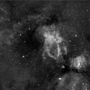 Sh2-157, NGC 7635, et.al, Ha,                                Stephen Garretson