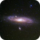 M31 - Andromeda Galaxy,                                Valerio Tettamanti
