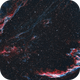 veil nebula(NGC6992) & Pickering's Triangle(NGC6979),                                Ilyoung, Seo