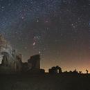 Winter Milky Way over Sant Eustachio's church,                                Davide De Col