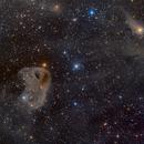 Baby Eagle Nebula - LBN777,                                DeepSkyView