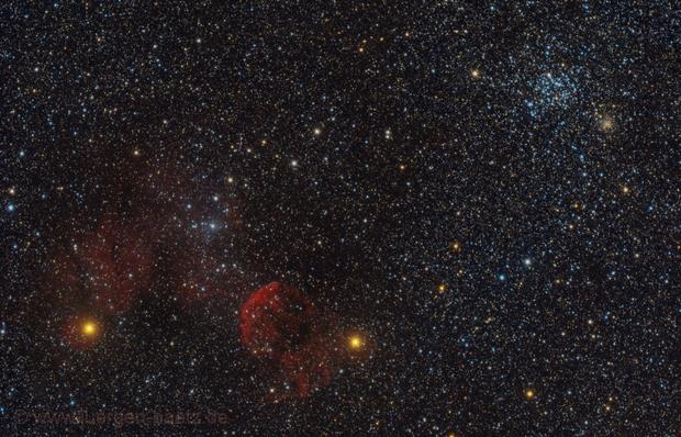 Between IC 443 and M 35,                                Jenafan
