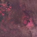 NGC7000 area,                                Ou Mingzhi