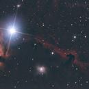 La Tête de cheval Barnard 33 Dans Orion,                                Nickzo