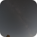 Milky Way over Devils Tower,                                mads0100
