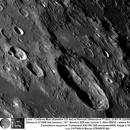 Cratères Mee et Hainzel 21/01/2016 625 mm barlow 3  IR610  Luc CATHALA,                    CATHALA Luc