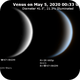 Venus on 2020-05-04 (Near-UV and IR),                                JDJ