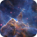 Herbig-Haro 901 and 902 close-up - a Hubble Telescope mosaic in mapped color.,                    Dean Jacobsen