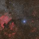 NGC 7000,                                DeX