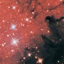 Sh2-155 - The Cave Nebula in LRGB+NB help,                                David Payne