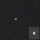 M57, The Ring Nebula,                                  Mark L Mitchell