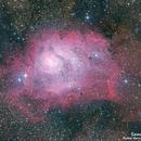 Lagoon Nebula,                                Samuel Müller