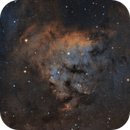 NGC7822 in SHO - Captured Remotely from the North Atlantic,                                NewfieStargazer