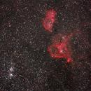 IC1848 IC1805 NGC869 NGC884,                                Gianni Carcano