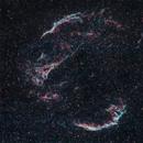 Veil Nebula (Western and Eastern) - NGC 6960, NGC 6992,                                Mateus