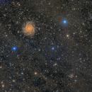 IC342 with IFN,                                  LAUBING