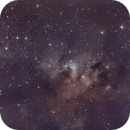 "sh2-155 ""Cave Nebula"" of a different color,                                John Massey"