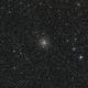 Kugelsternhaufen M 71 im Sternbild Pfeil (Sagitta)-Crop,                                astrobrandy