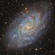 M33 The Triangulum Galaxy LRGB,                                Alberto Pisabarro